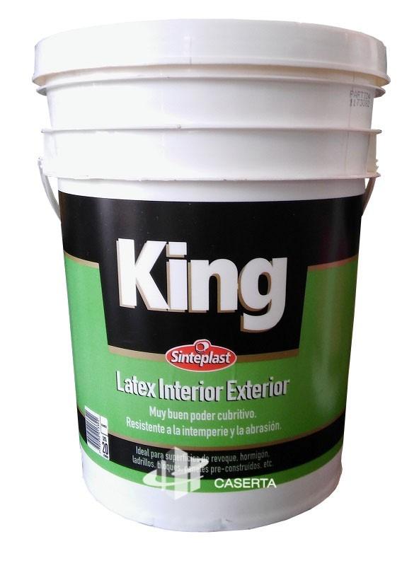 Sinteplast Latex King Interior/Exterior 20 lts.