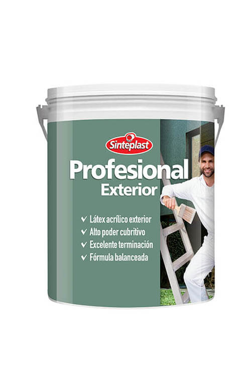 Sinteplast Latex Profesional Exterior 20 lts.