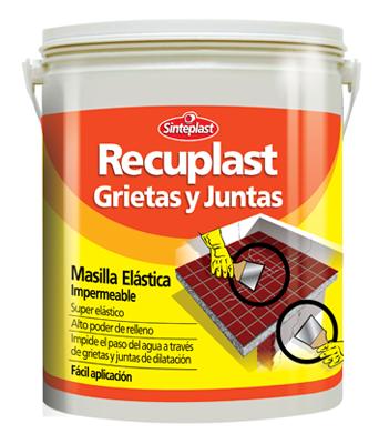 Sinteplast Recuplast Grietas Y Juntas 1 kg.