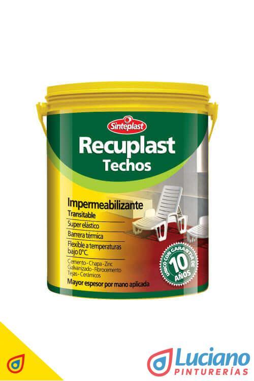 Sinteplast Recuplast Techo Blanco 20 lts.
